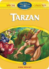 Tarzan (Best of Special Collection, 2 DVDs, Steelbook) Poster