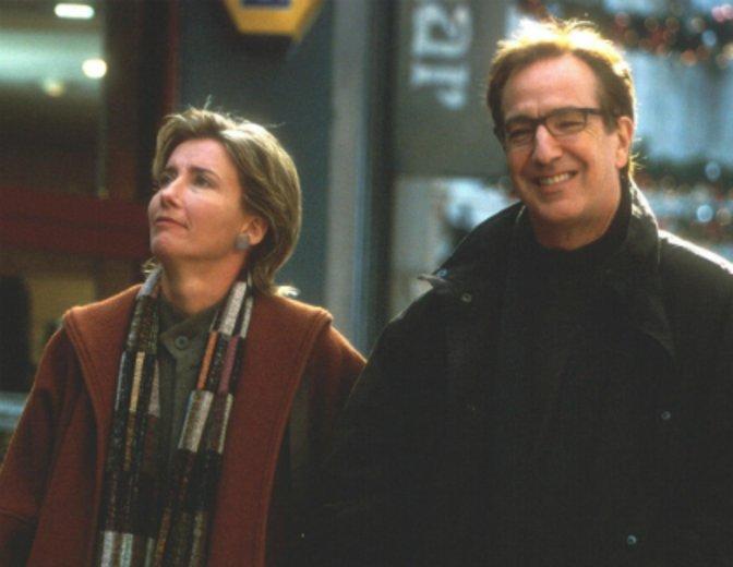 """In """"Tatsächlich Liebe"""" kämpfen Alan Rickman und Emma Thompson um ihre Ehe © UIP"""