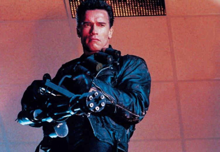 """Der Terminator-Spruch """"I'll be back"""" wurde zum Credo für Arnold Schwarzneggers über fast 40-jährige Filmkarriere. """"Terminator 2 - Tag der Abrechnung (1991)"""" © Columbia TriStar"""