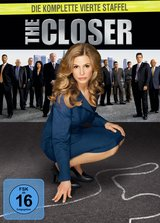 The Closer - Die komplette vierte Staffel (4 DVDs) Poster