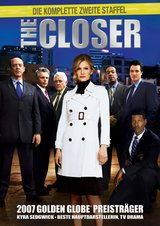 The Closer - Die komplette zweite Staffel (4 DVDs) Poster