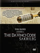 The Da Vinci Code - Sakrileg: Kryptogramm-Giftset (Limited Extended Version, 2 DVDs) Poster