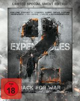 The Expendables 2 - Back for War (Limited Special Uncut Edition, Steelbook) Poster