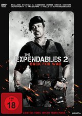 The Expendables 2 - Back for War (Limited Uncut Hero Pack, 2 Discs) Poster
