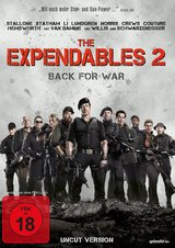 The Expendables 2 - Back for War (Uncut Version) Poster