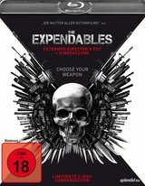 The Expendables (Extended Director's Cut, + Kinofassung, Limitierte Sonderedition, 2 Discs) Poster