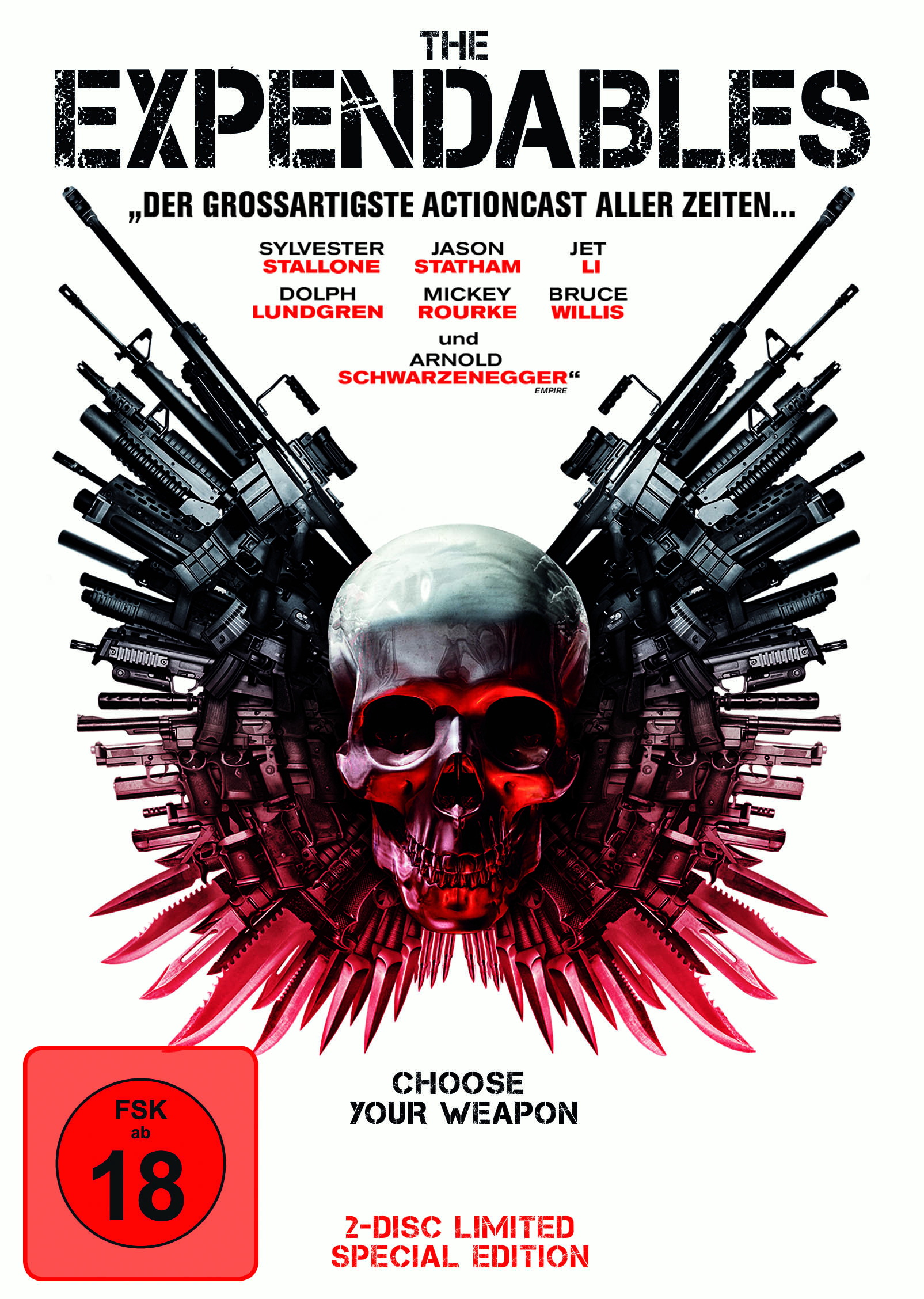 The Expendables (Limited Special Edition, 2 Discs, Steelbook) Poster