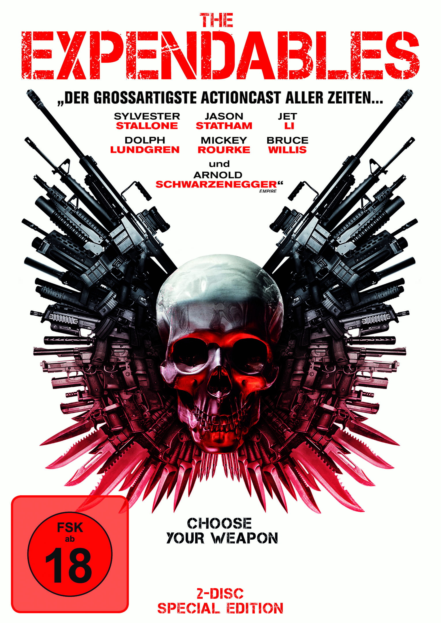 The Expendables (Special Edition, 2 Discs) Poster