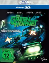 The Green Hornet (Blu-ray 3D) Poster