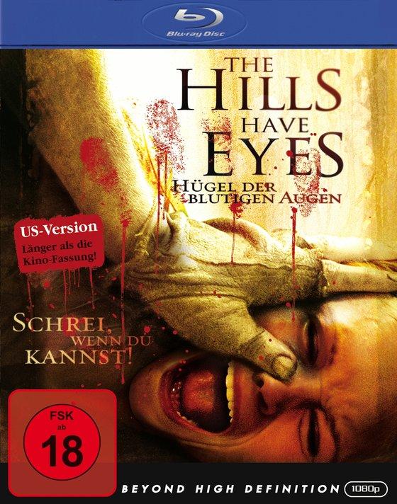 The Hills Have Eyes - Hügel der blutigen Augen Kaufvideo-Cover