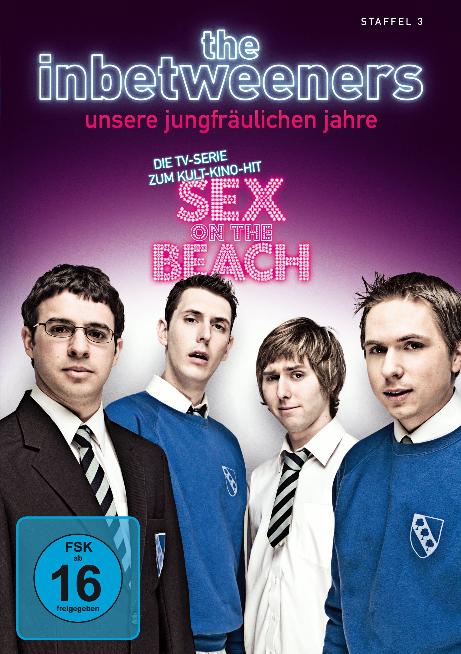 The Inbetweeners - Unsere jungfräulichen Jahre, Staffel 3 Poster