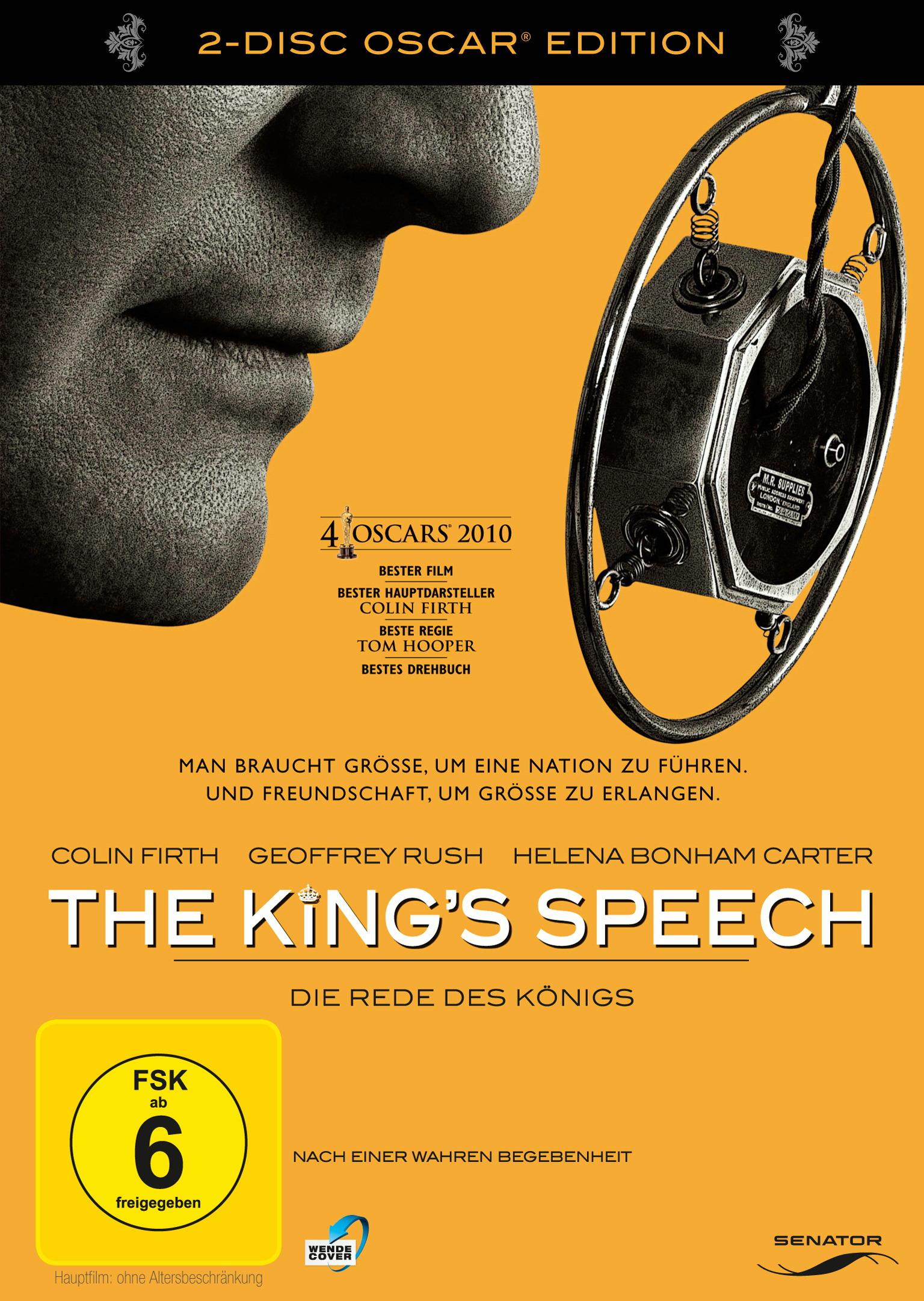 The King's Speech - Die Rede des Königs (2-Disc Oscar Edition) Poster