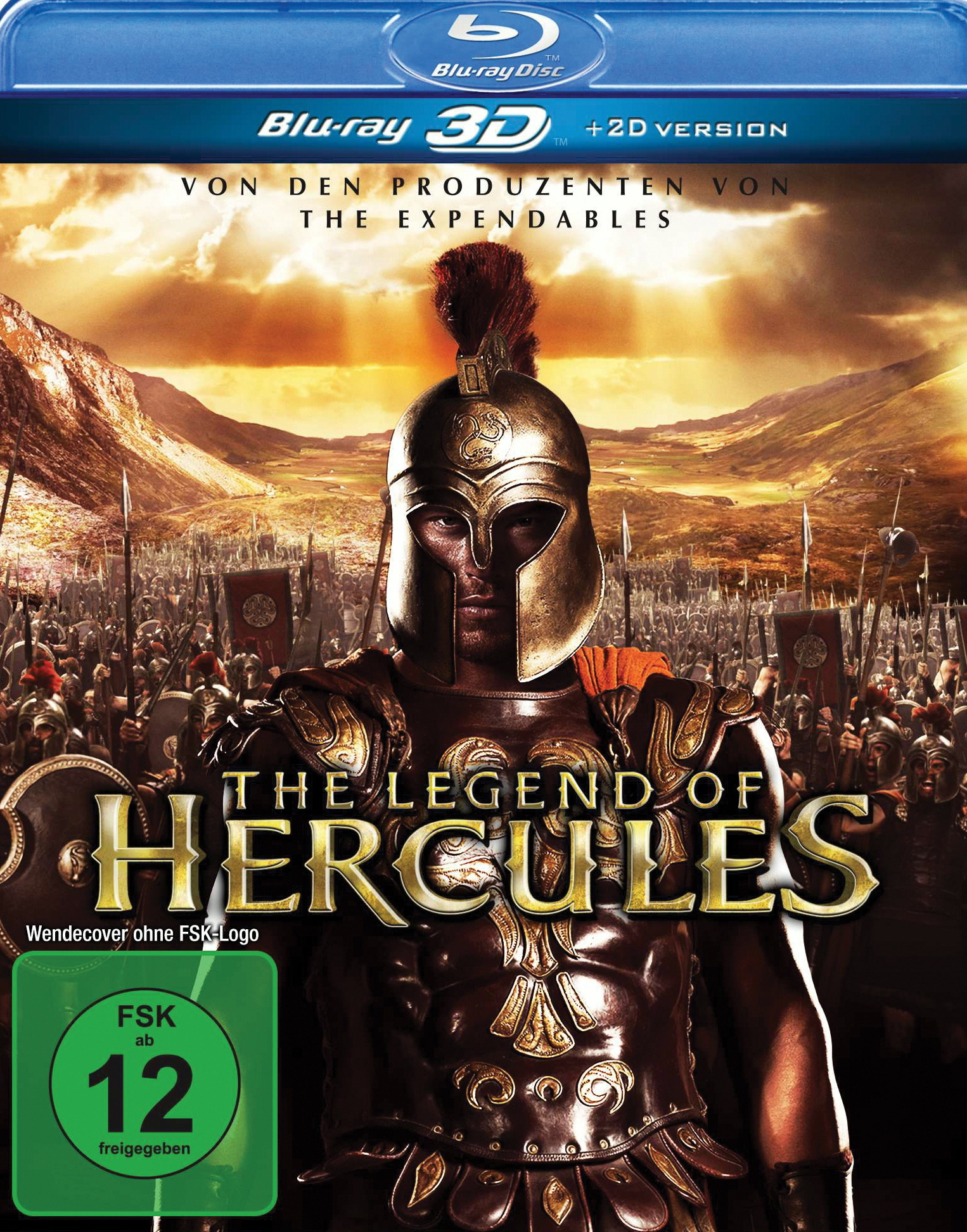 The Legend of Hercules (Blu-ray 3D) Poster