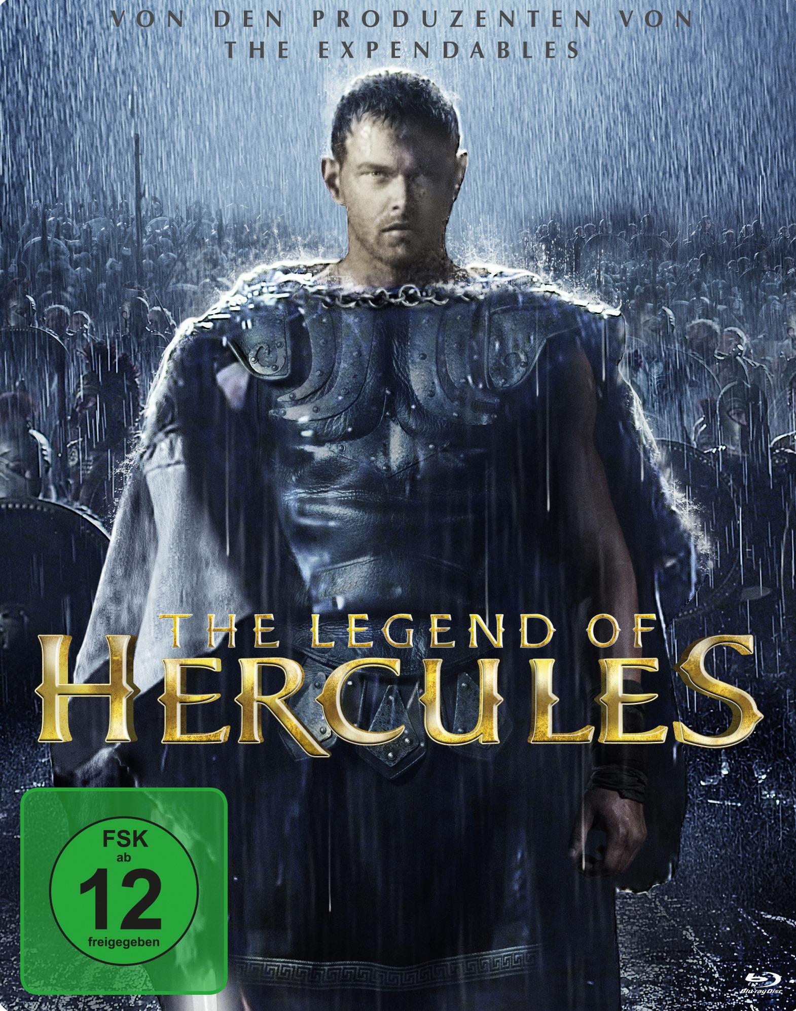 The Legend of Hercules (Steelbook) Poster