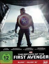 The Return of the First Avenger (Blu-ray 3D + Blu-ray 2D, Limited Edition, Steelbook) Poster