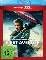 The Return of the First Avenger (Blu-ray 3D) Poster