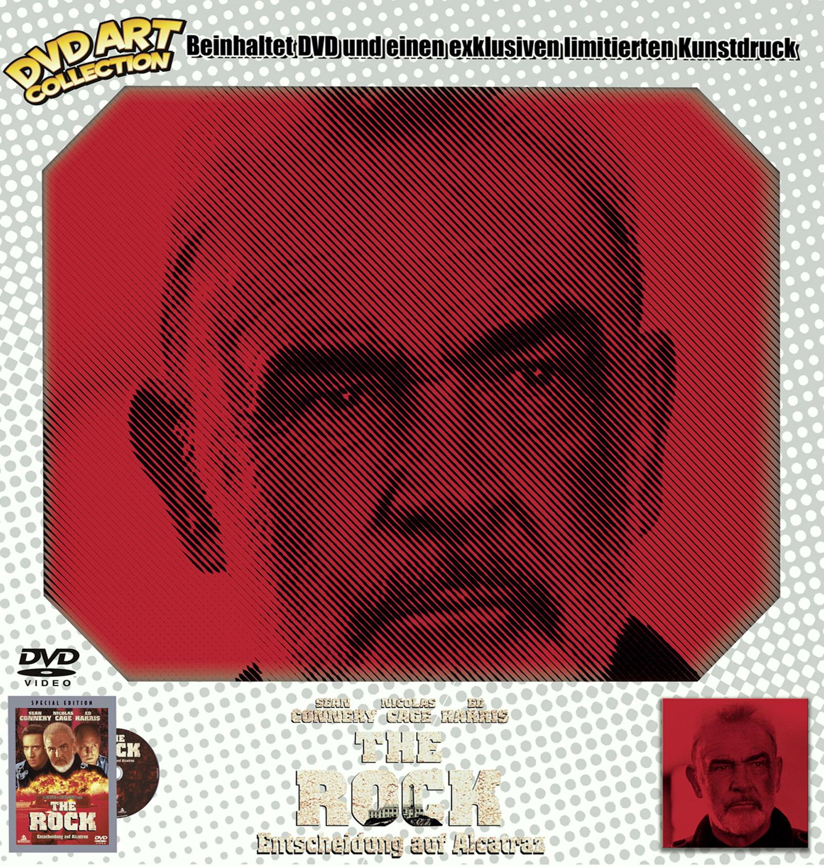 The Rock - Entscheidung auf Alcatraz (DVD Art Collection) Poster