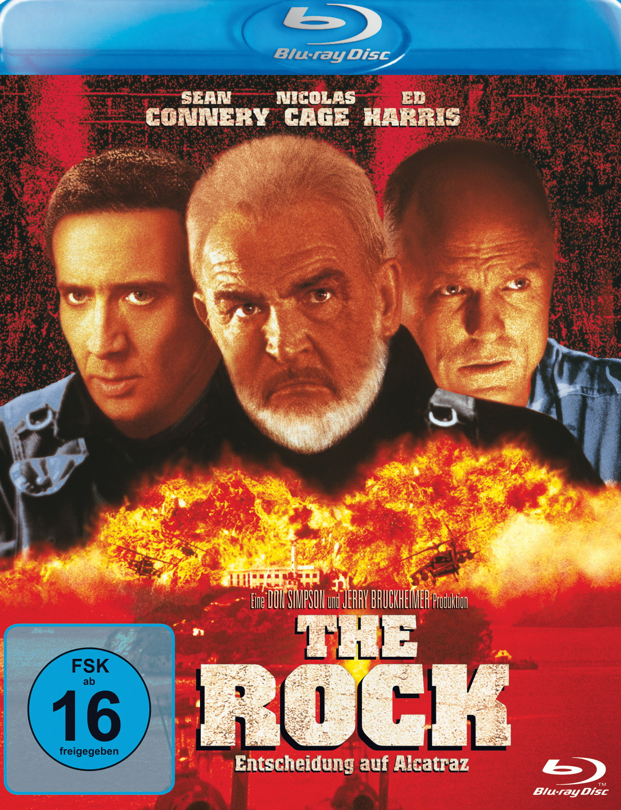 The Rock - Entscheidung auf Alcatraz (Uncut Version) Poster