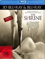 The Shrine (Blu-ray 3D, + Blu-ray 2D) Poster