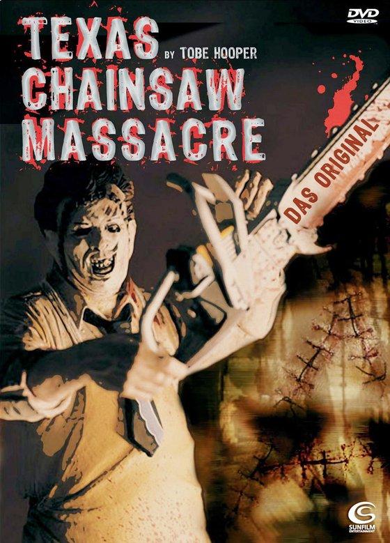 The Texas Chainsaw Massacre - Das Original Kaufvideo-Cover