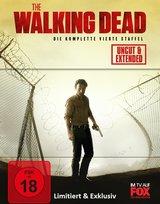 The Walking Dead - Die komplette vierte Staffel (Limited Edition, Steelbook, Uncut & Extended, 5 Discs) Poster
