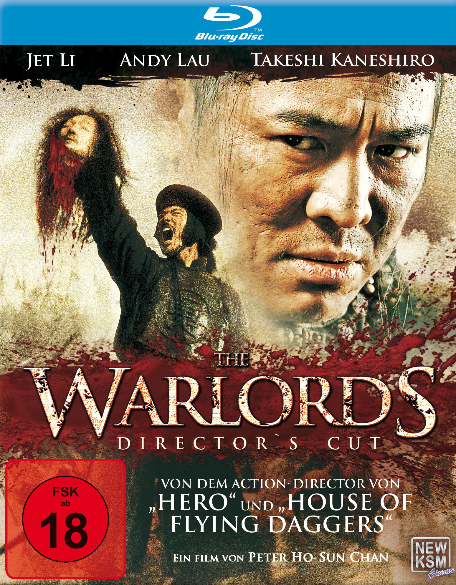 The Warlords (Director's Cut) Poster