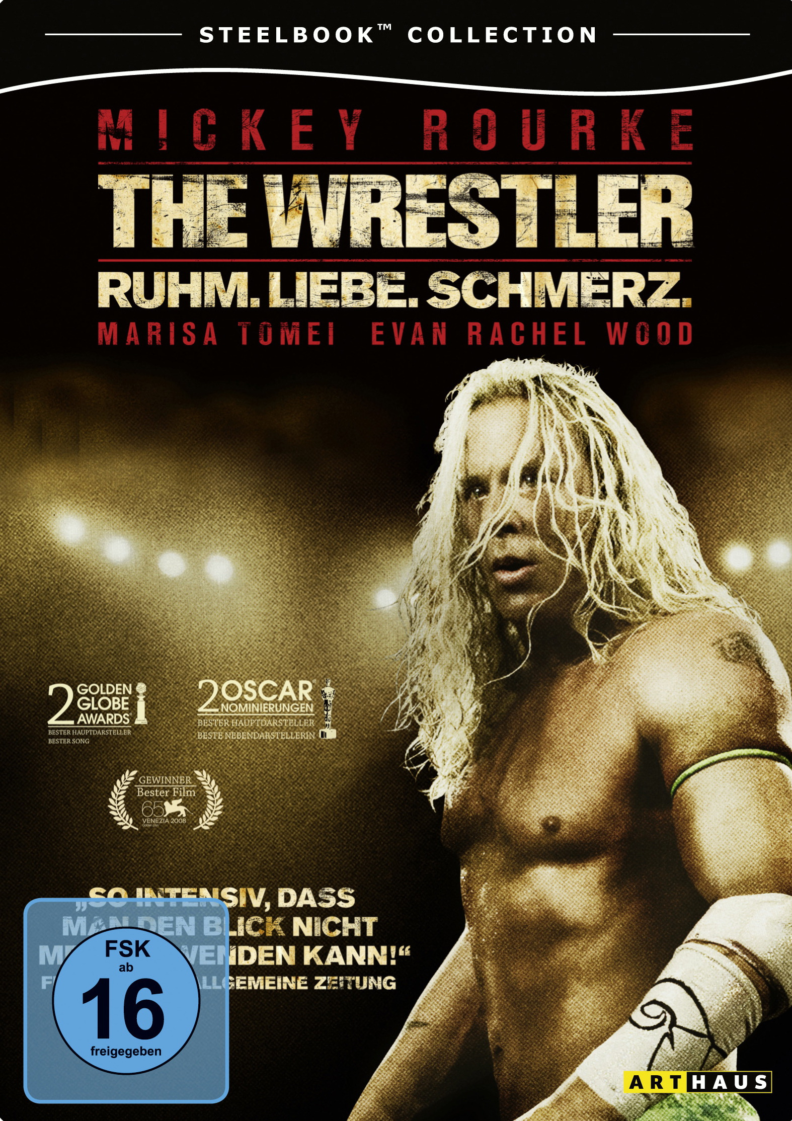 The Wrestler (Steelbook Collection) Poster