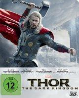 Thor - The Dark Kingdom (Blu-ray 3D, + Blu-ray 2D, Steelbook) Poster