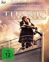 Titanic 3D (Blu-ray 3D, + Blu-ray 2D, 4 Discs) Poster