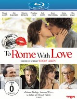 To Rome with Love Poster