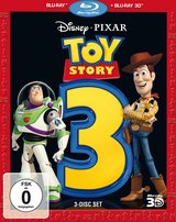 Toy Story 3 (Blu-ray 3D, + Blu-ray 2D, 3 Discs) Poster