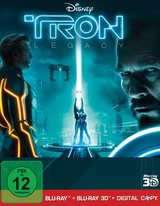 Tron: Legacy (Blu-ray 3D, Blu-ray 2D, + Digital Copy, 3 Discs) Poster