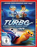 Turbo - Kleine Schnecke, großer Traum (Blu-ray 3D, + Blu-ray 2D) Poster