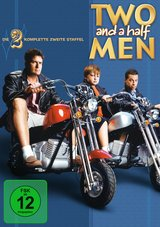 Two and a Half Men - Die komplette zweite Staffel (4 Discs) Poster