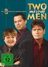 Two and a Half Men: Mein cooler Onkel Charlie - Die komplette sechste Staffel (4 DVDs) Poster
