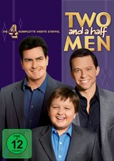 Two and a Half Men: Mein cooler Onkel Charlie - Die komplette vierte Staffel (4 DVDs) Poster