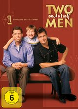 Two and a Half Men: Mein cooler Onkel Charlie - Die komplette erste Staffel (4 DVDs) Poster
