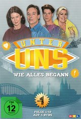 Unter uns - Wie alles begann, Box 1, Folge 01-50 (5 Discs) Poster