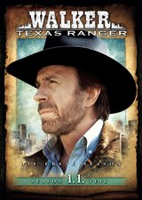 Walker, Texas Ranger - Season 1, 1. Teil (3 DVDs) Poster