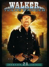 Walker, Texas Ranger - Season 2, 1. Teil (3 DVDs) Poster