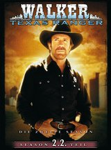 Walker, Texas Ranger - Season 2, 2. Teil (3 DVDs) Poster