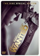 Wanted (2 DVDs, Steelbook) Poster