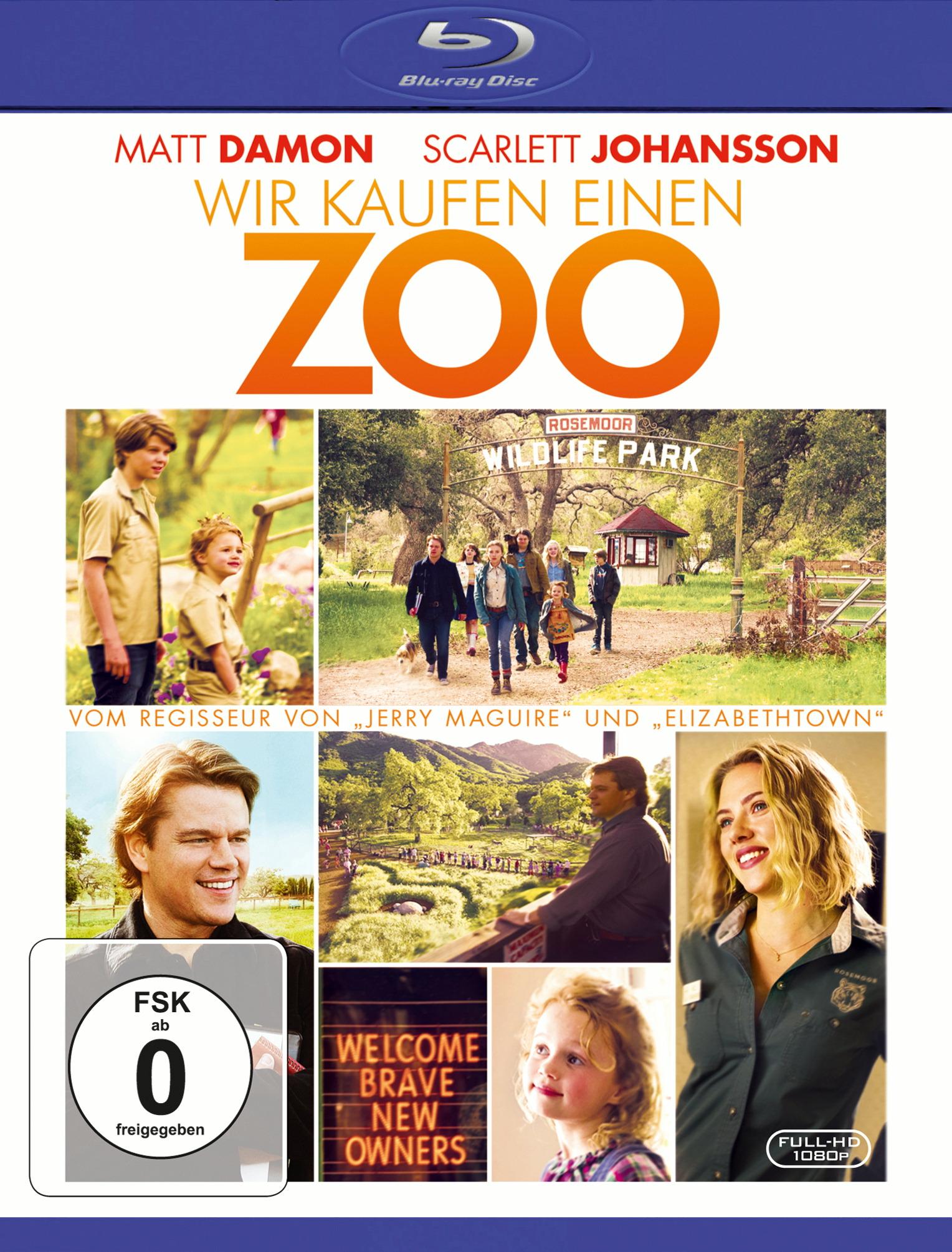 Wir kaufen einen Zoo (inkl. Digital Copy) Poster