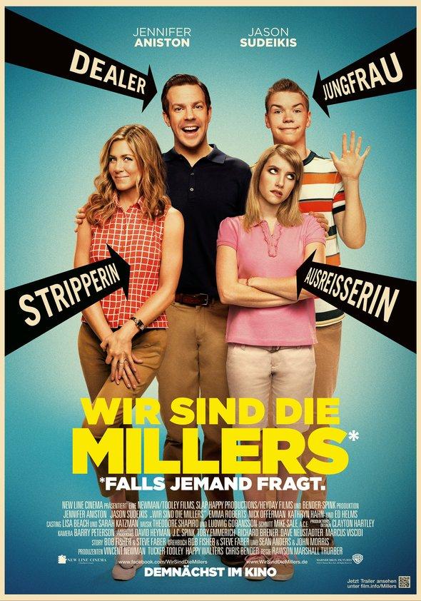Wir sind die Millers Poster