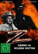 Zorro im wilden Westen Poster