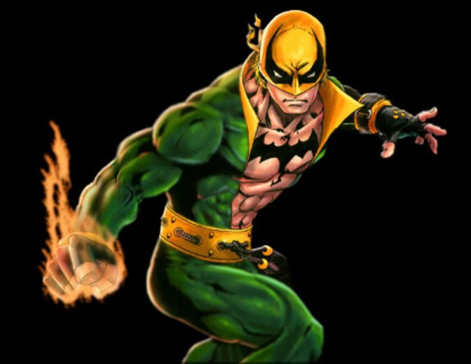 Iron Fist in der Comicvorlage ©Marvel