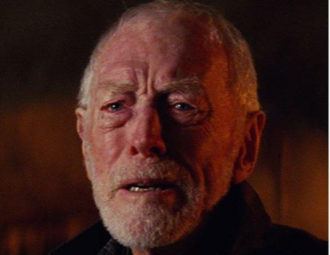 """Max von Sydow in """"Star Wars: Das Erwachen der Macht"""" ©Disney"""