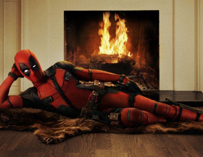 Deadpool macht es sich schon mal bequem ©Fox