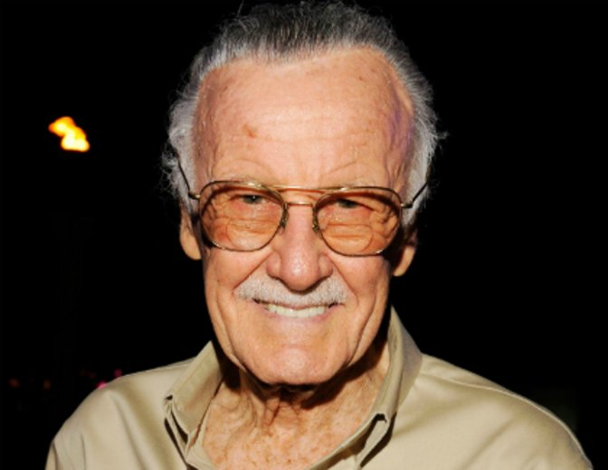 Kann sich selbst vor Deadpools Kommentaren nicht erwehren: Stan Lee © allaccess