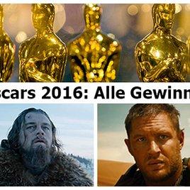 Oscars 2016: Das sind die Gewinner der 88. Oscar-Verleihung